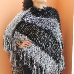 Poncho with Panache (SOLD)